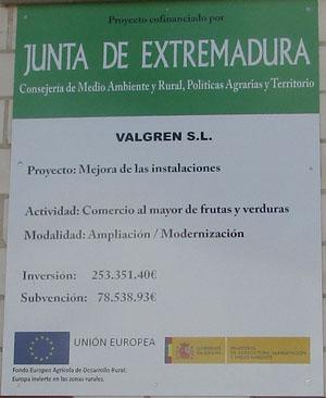 Anagrama UE y Ministerio